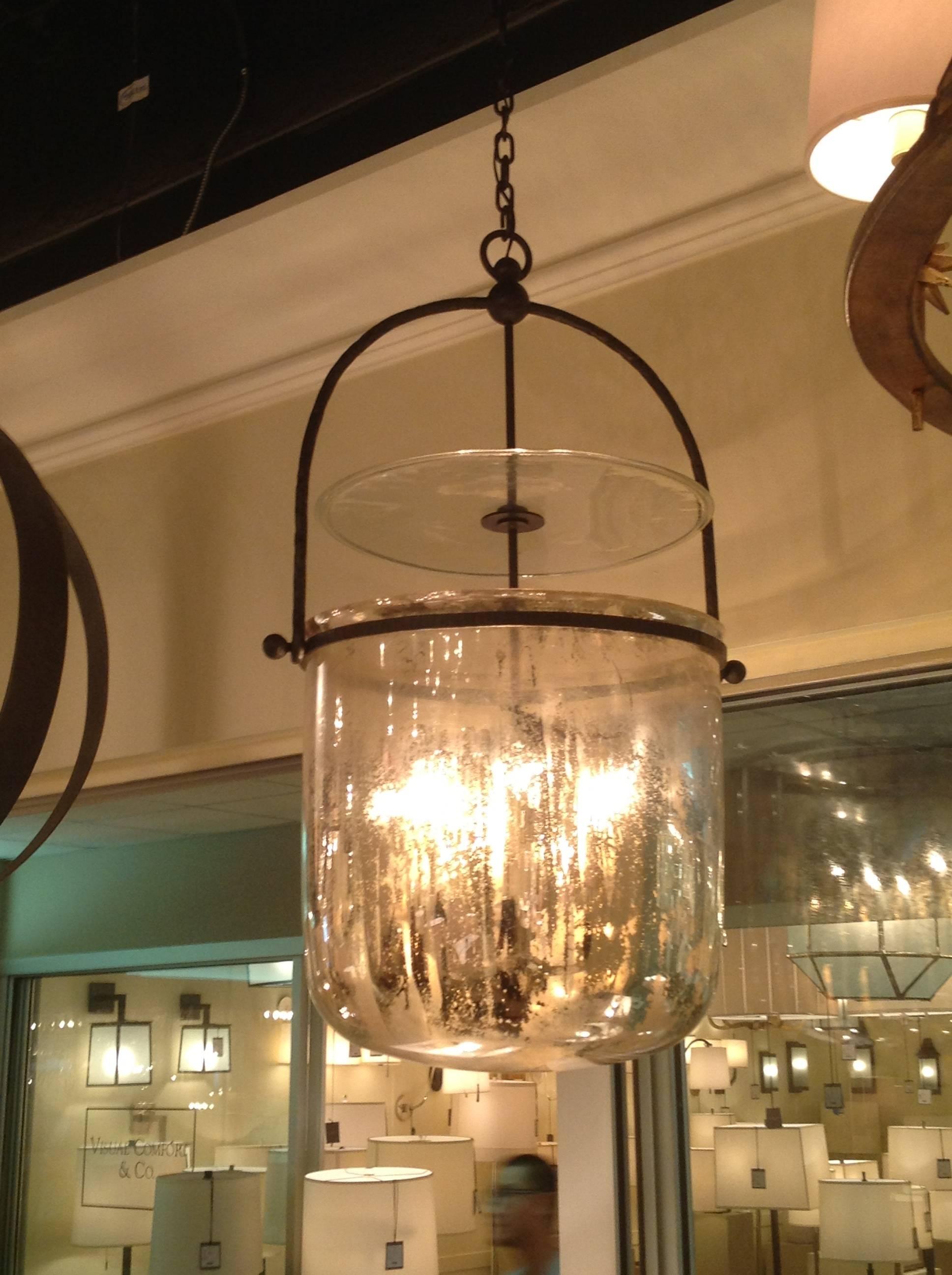 Lights: Antique Interior Lights Design Ideas With Mercury Glass inside Mercury Glass Lighting Fixtures (Image 9 of 15)