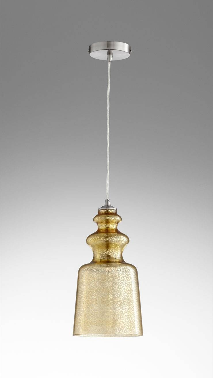 Lights: Mercury Glass Pendant Light | Seeded Glass Pendant Shade intended for Bubble Glass Pendant Lights (Image 12 of 15)