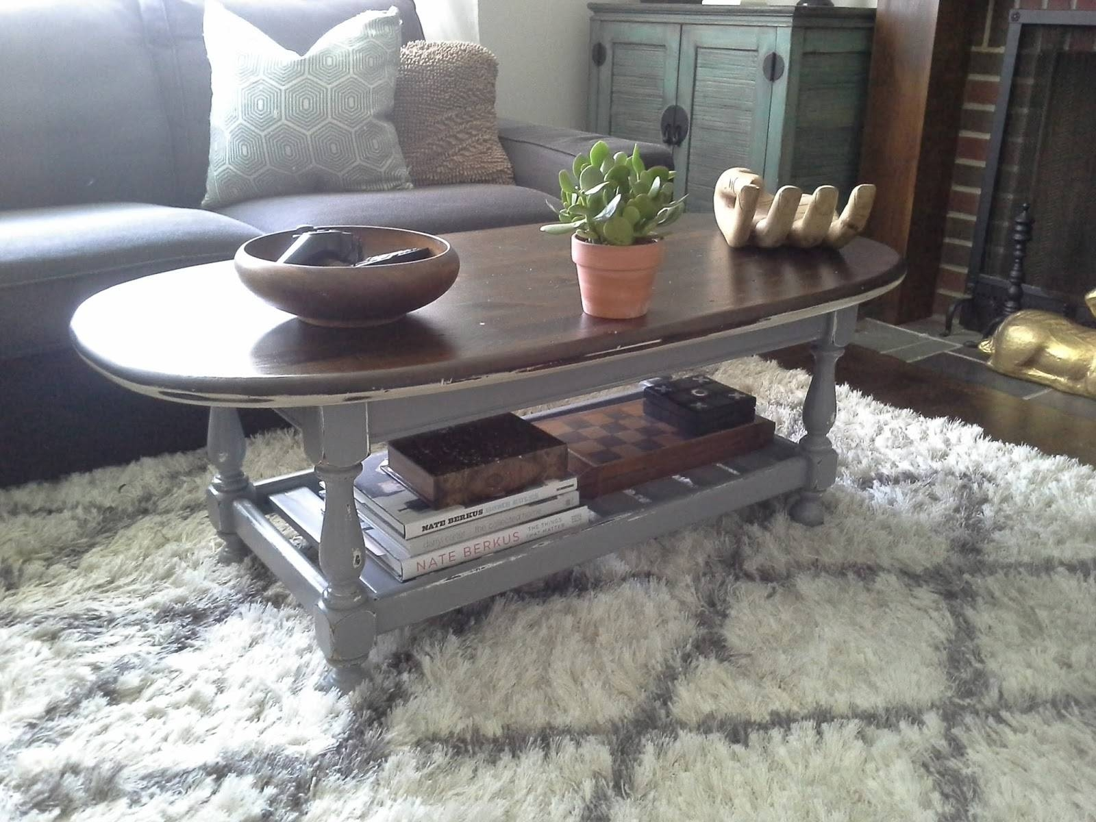 Lilly's Home Designs: Ethan Allen Coffee Table Redesign With Regard To Jacobean Coffee Tables (Image 10 of 15)