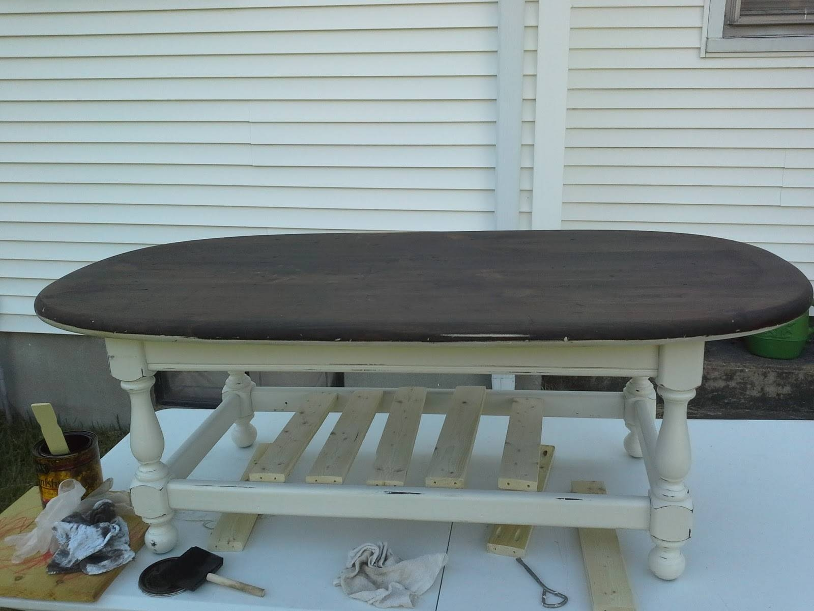 Lilly's Home Designs: Ethan Allen Coffee Table Redesign Within Jacobean Coffee Tables (View 8 of 15)