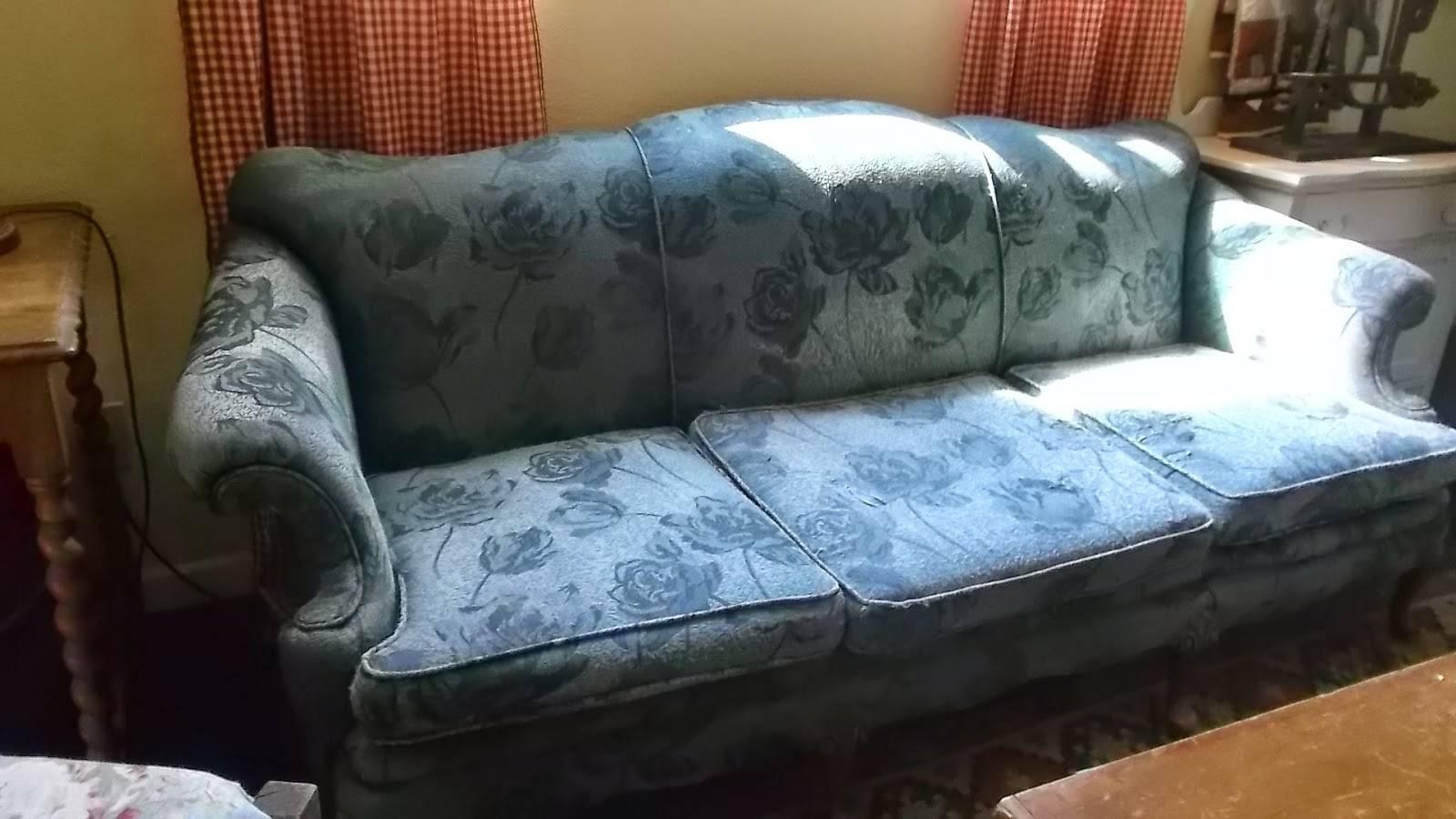 Living A Cottage Life: Camel-Back Sofa Slipcover in Camelback Sofa Slipcovers (Image 11 of 15)