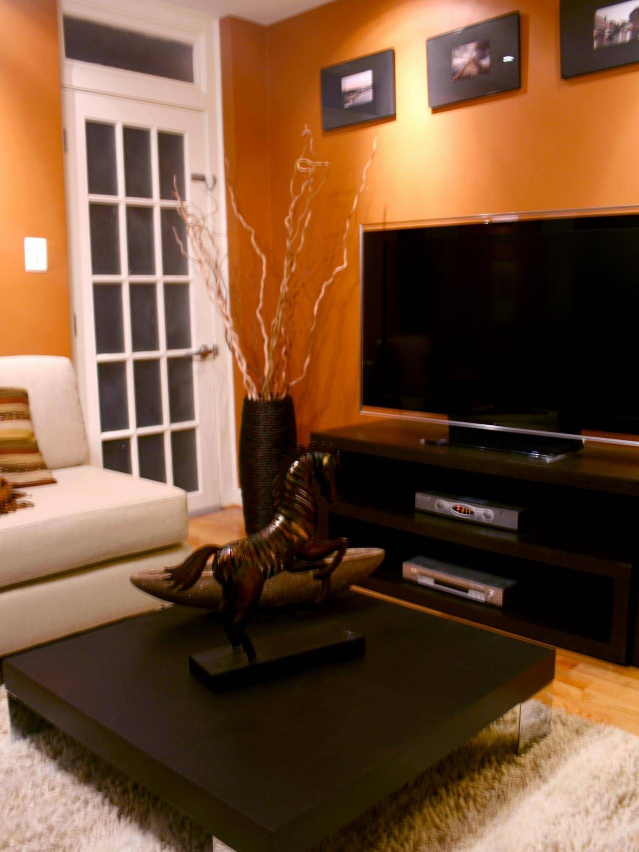Living Room Decor Orange Decorating Ideas On A Budget Brown And Pertaining To Burnt Orange Living Room Sofas (View 5 of 15)
