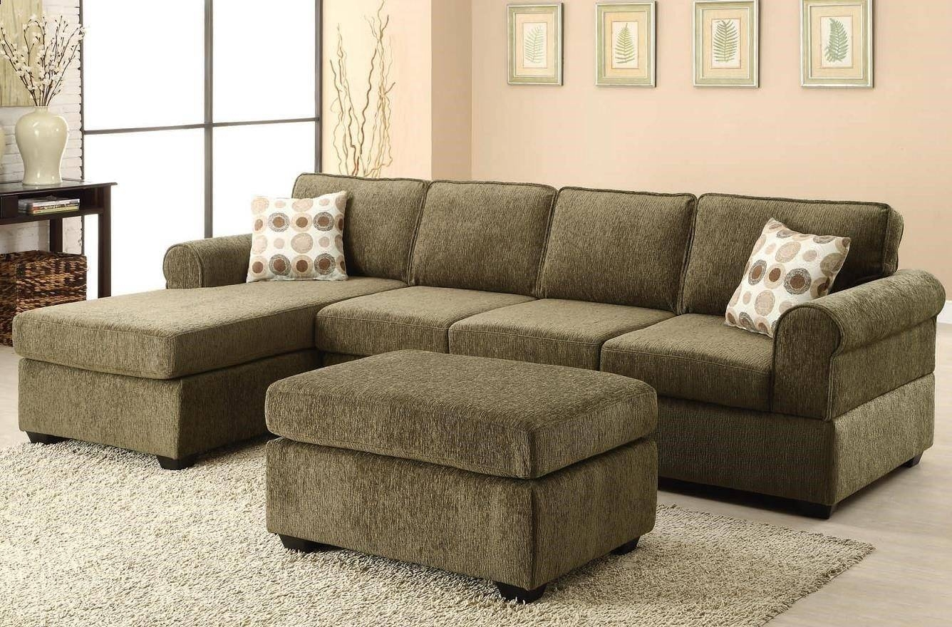 Living Room: Exciting Denim Sectional Sofa Design For Living Room inside Olive Green Sectional Sofas (Image 7 of 15)