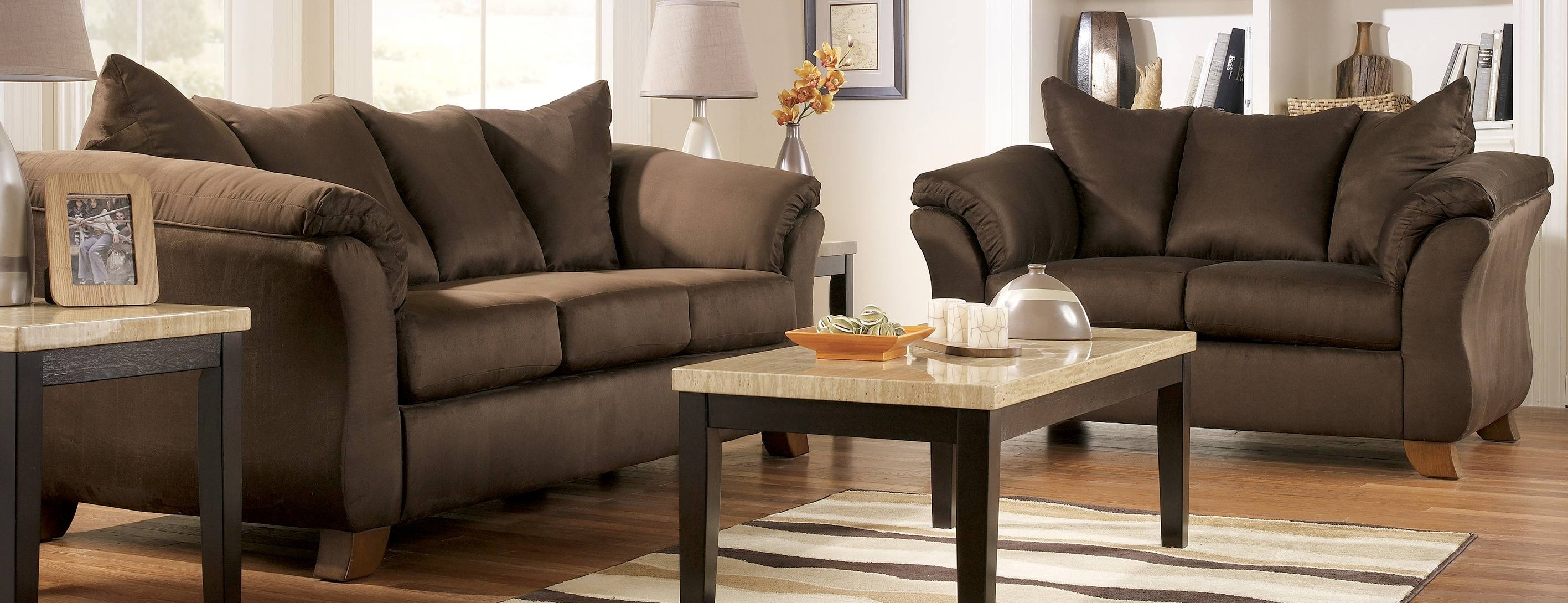 Living Room: Extraordinary Living Room Chair Set Complete Living pertaining to Brown Sofa Chairs (Image 14 of 15)