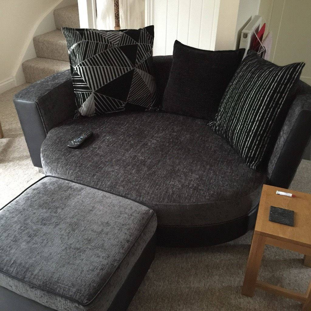 Living Room: Havertys Amalfi Sectional | Circular Couch | Cuddler Sofa For Havertys  Amalfi Sofas