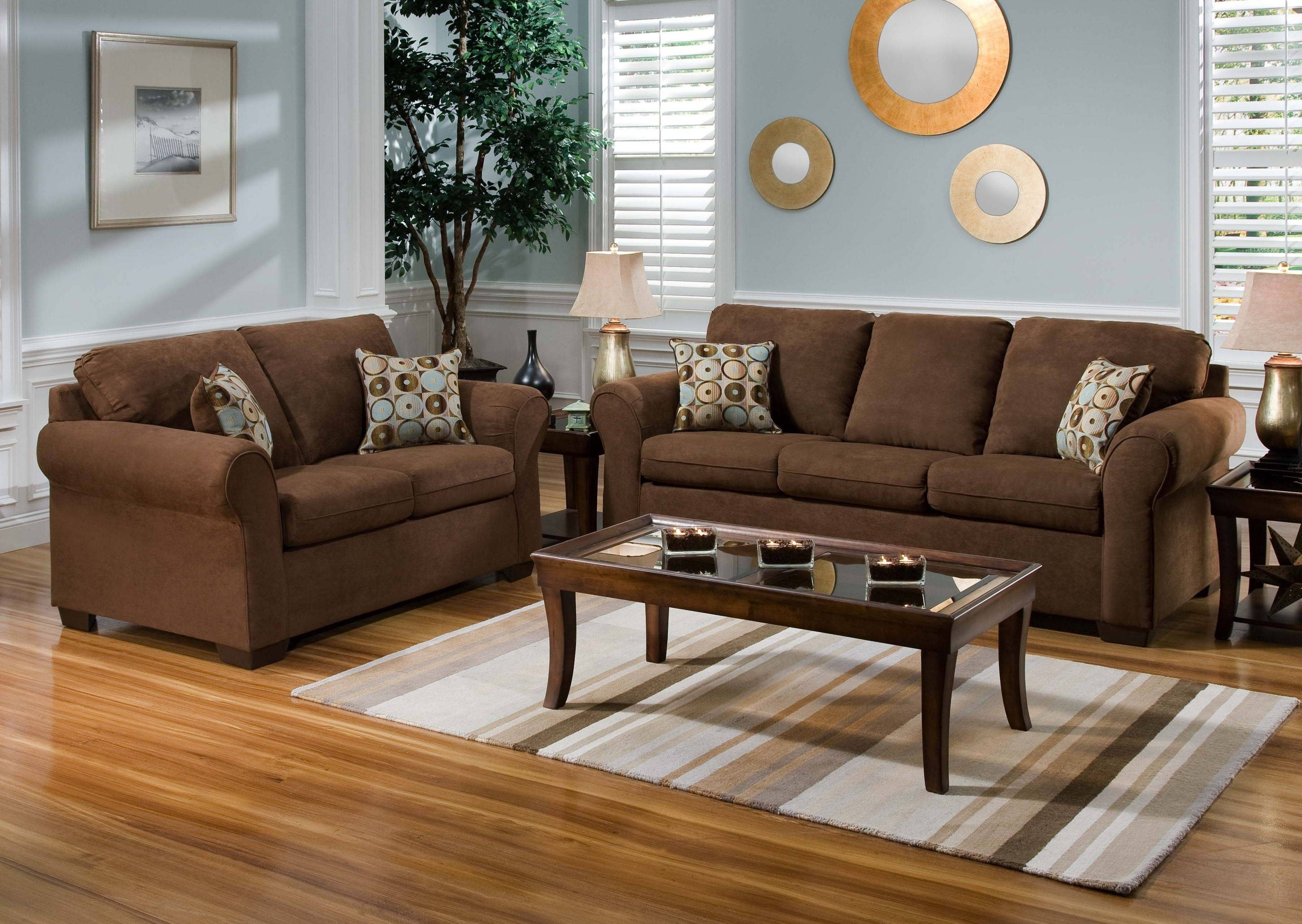 Living Room Ideas Brown Sofa Color Walls Tray Ceiling Bath Asian for Brown Sofa Chairs (Image 12 of 15)