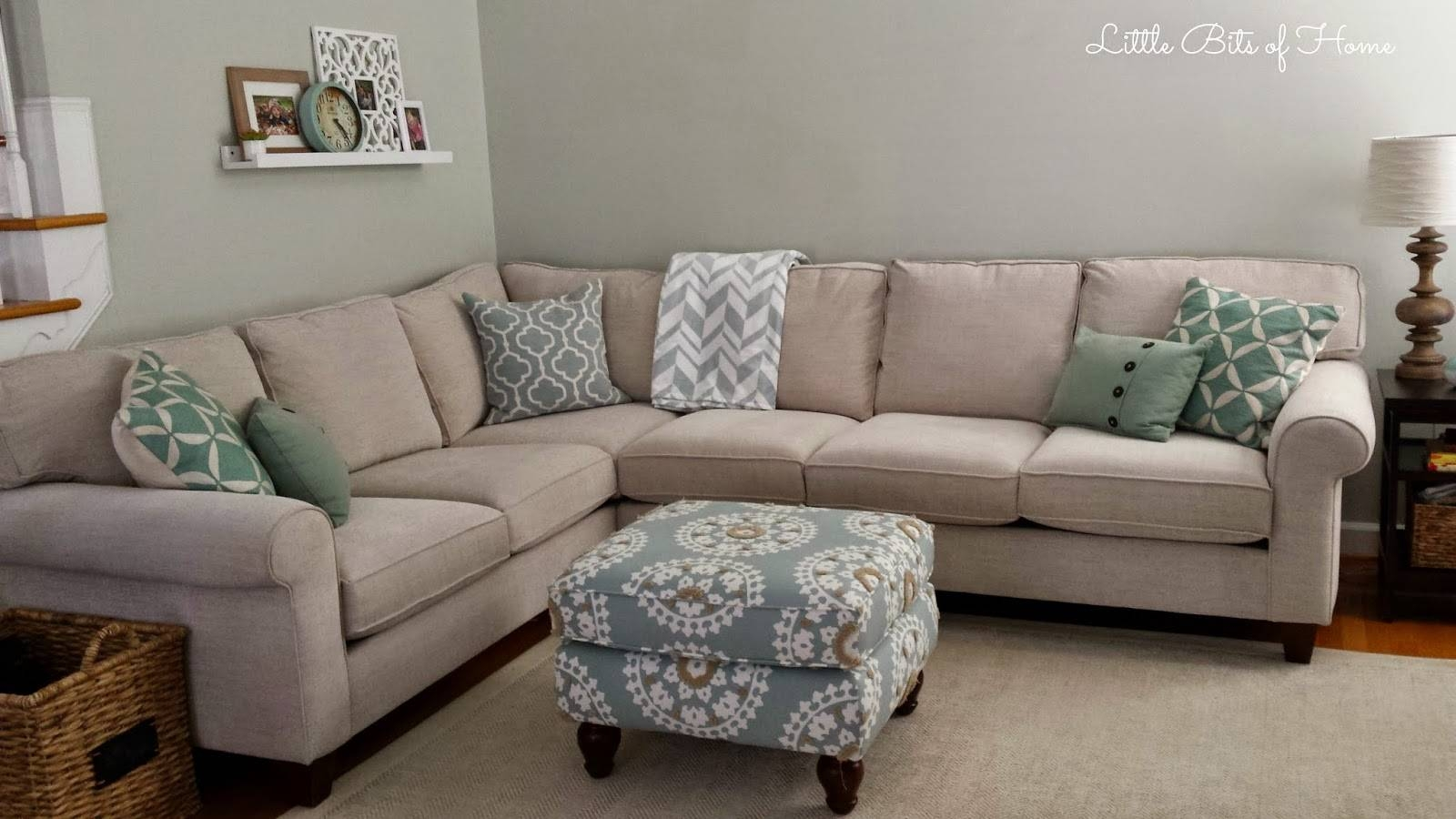 Living Room Makeover: Couch Redo With Havertys Amalfi Sofas (Image 9 Of 15)