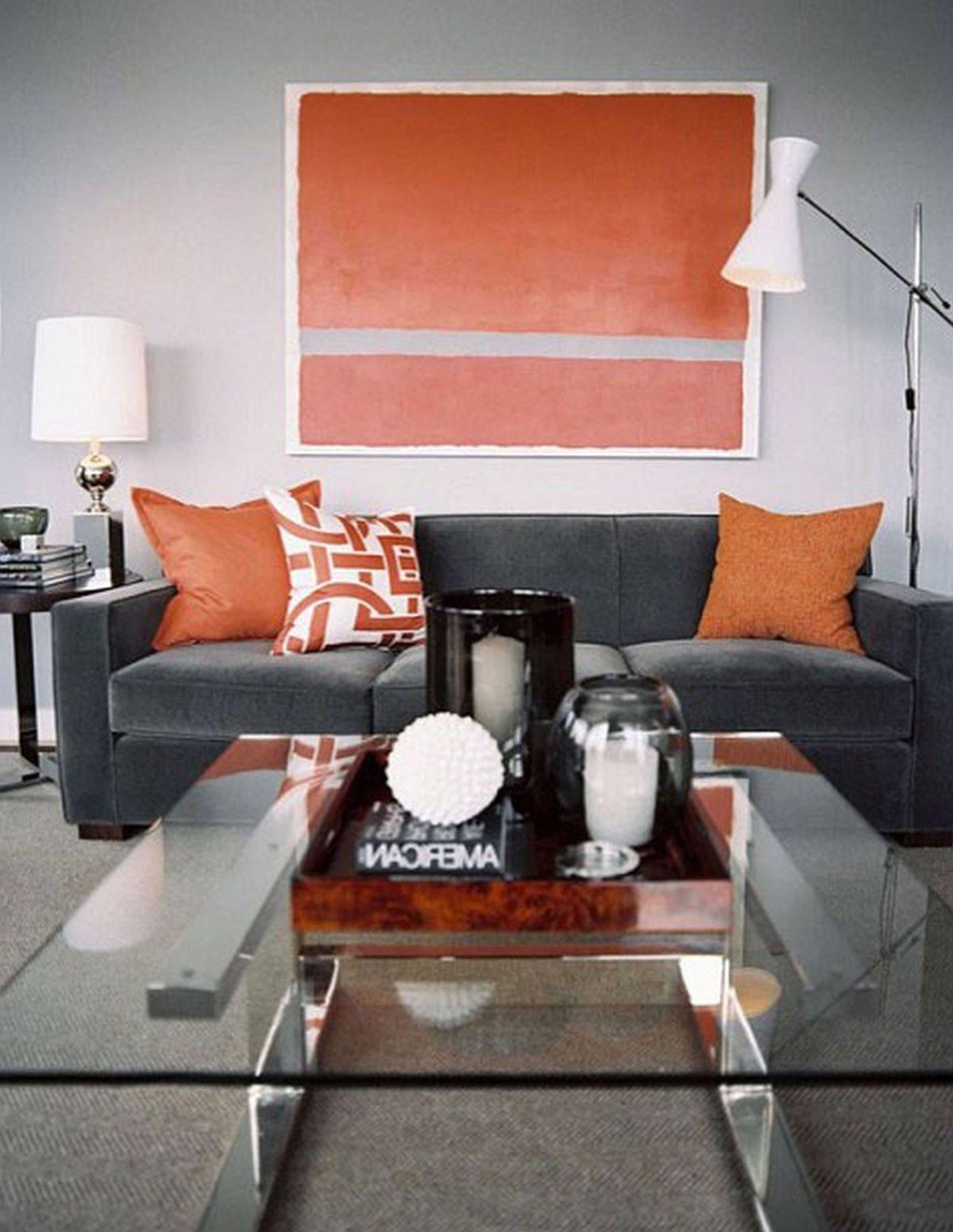 Living Room: Orange Living Room Furniture Photo (View 9 of 15)