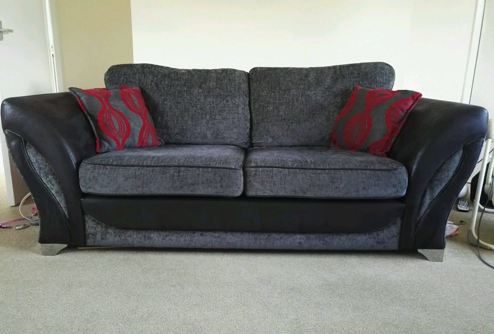 Living Room Sofa With Cuddler Sectional Half Moon Pertaining To