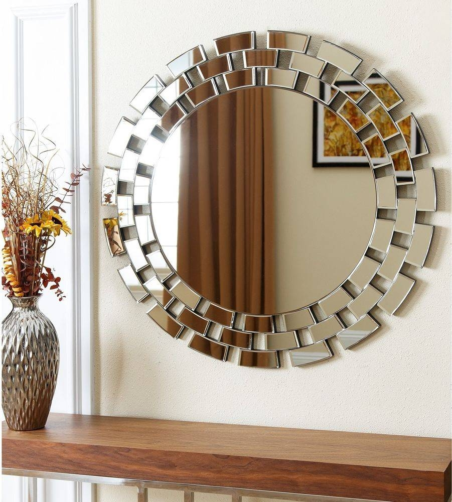 Living Room : Unusual Round Wall Mirror Ideas For Living Room inside Unique Round Mirrors (Image 8 of 15)