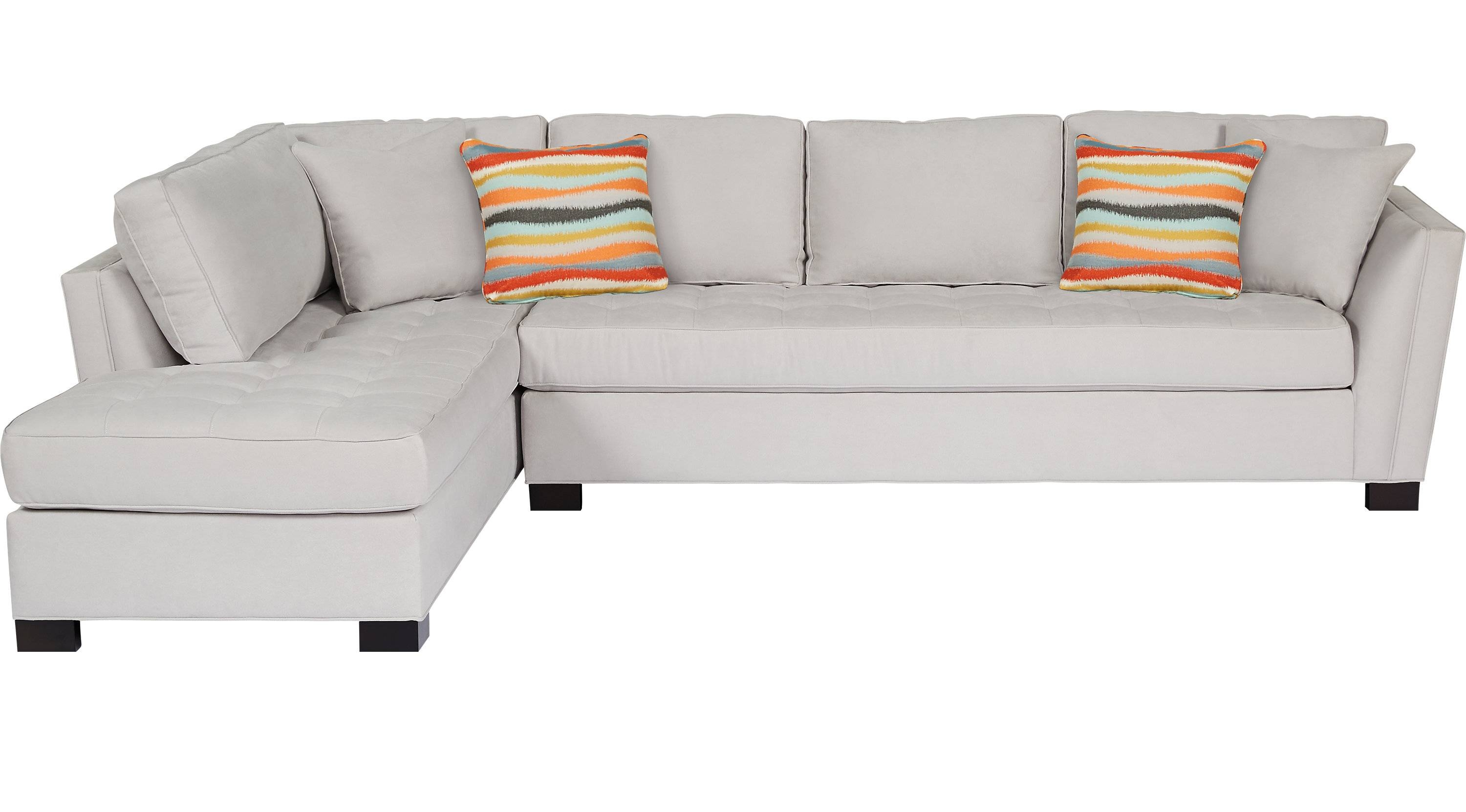 Living Room: Using Elegant Cindy Crawford Sectional Sofa For throughout Cindy Crawford Metropolis Sofas (Image 10 of 15)