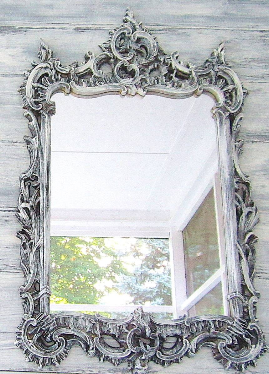 Lofty Design Ideas Antique Bathroom Mirror Best 25 Vintage Mirrors Intended For Silver Vintage Mirrors (View 9 of 15)