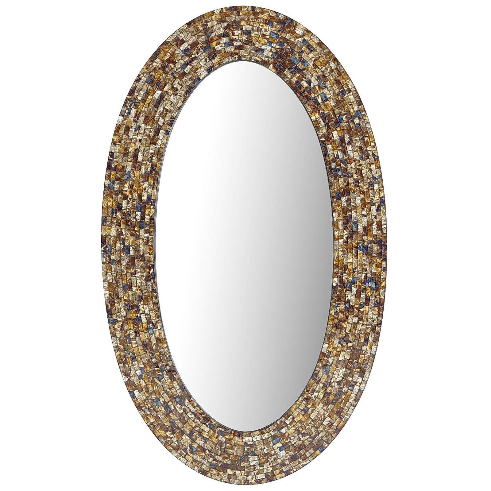 Long Oval Mirror Nanobuffet pertaining to Long Oval Mirrors (Image 6 of 15)