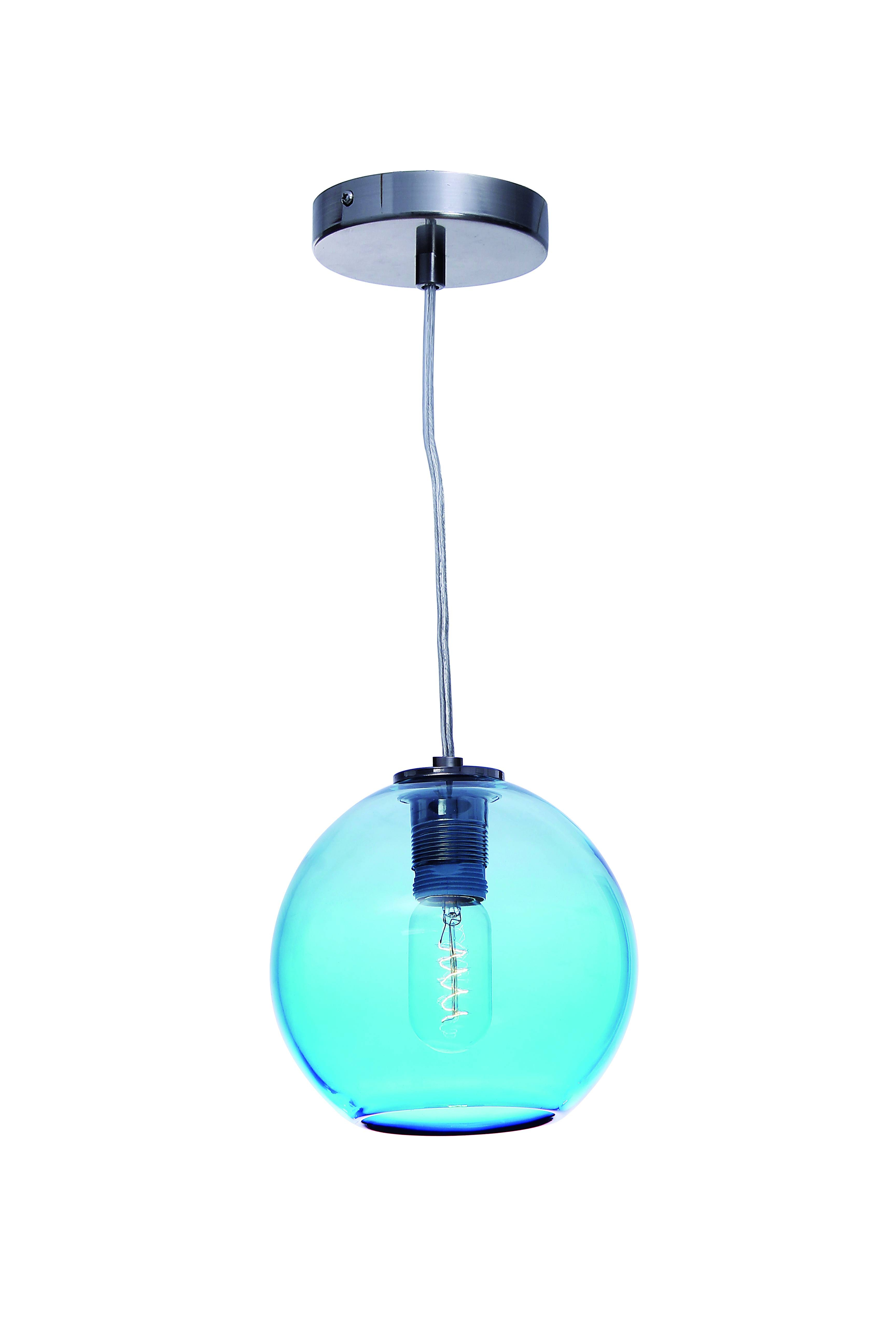Lovely Aqua Pendant Lights 64 For Your Glass Ball Pendant Light pertaining to Aqua Pendant Lights Fixtures (Image 9 of 15)