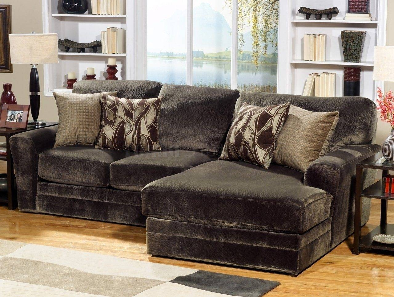 Lovely Chenille Sectional Sofa With Chaise 26 In Sectional Sofas in Chenille Sectional Sofas With Chaise (Image 12 of 15)