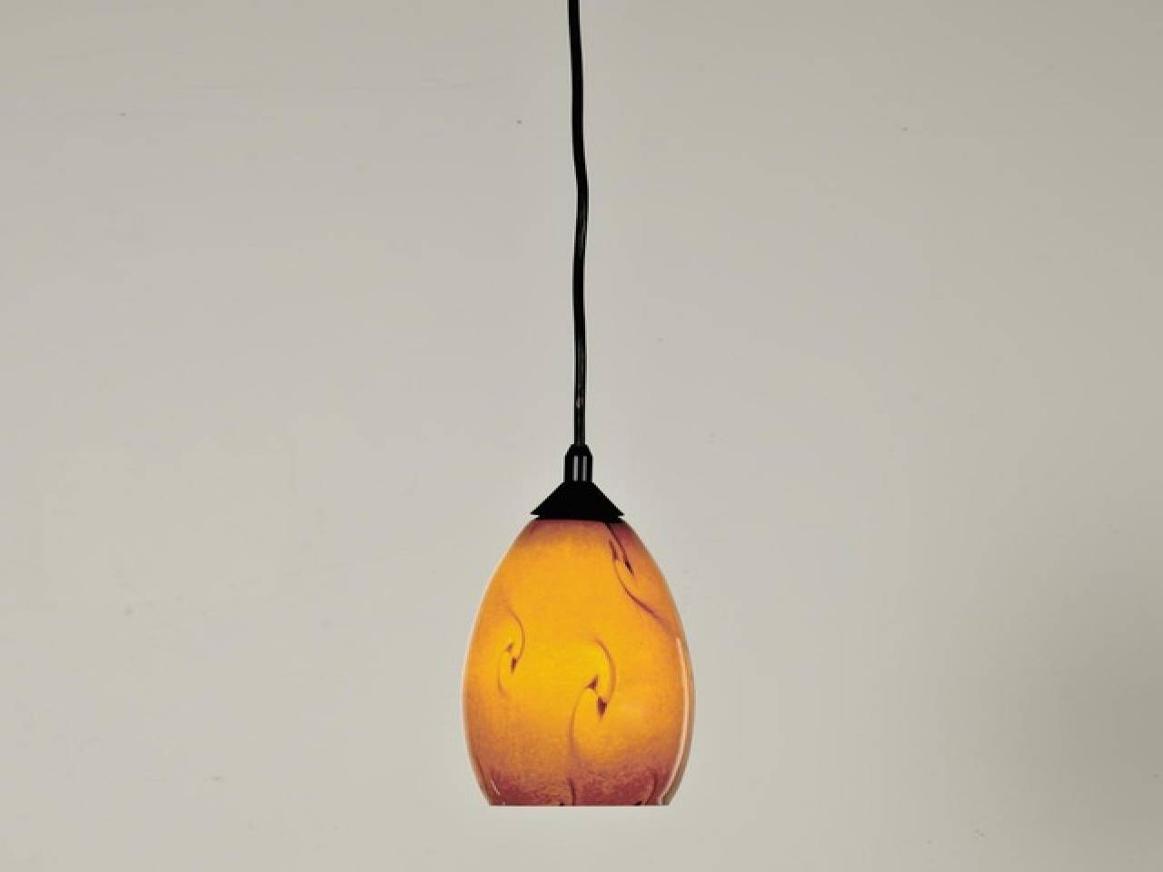 Lovely Murano Glass Pendant Light 59 In Clear Glass Mini Pendant intended for Murano Glass Lighting Pendants (Image 4 of 15)
