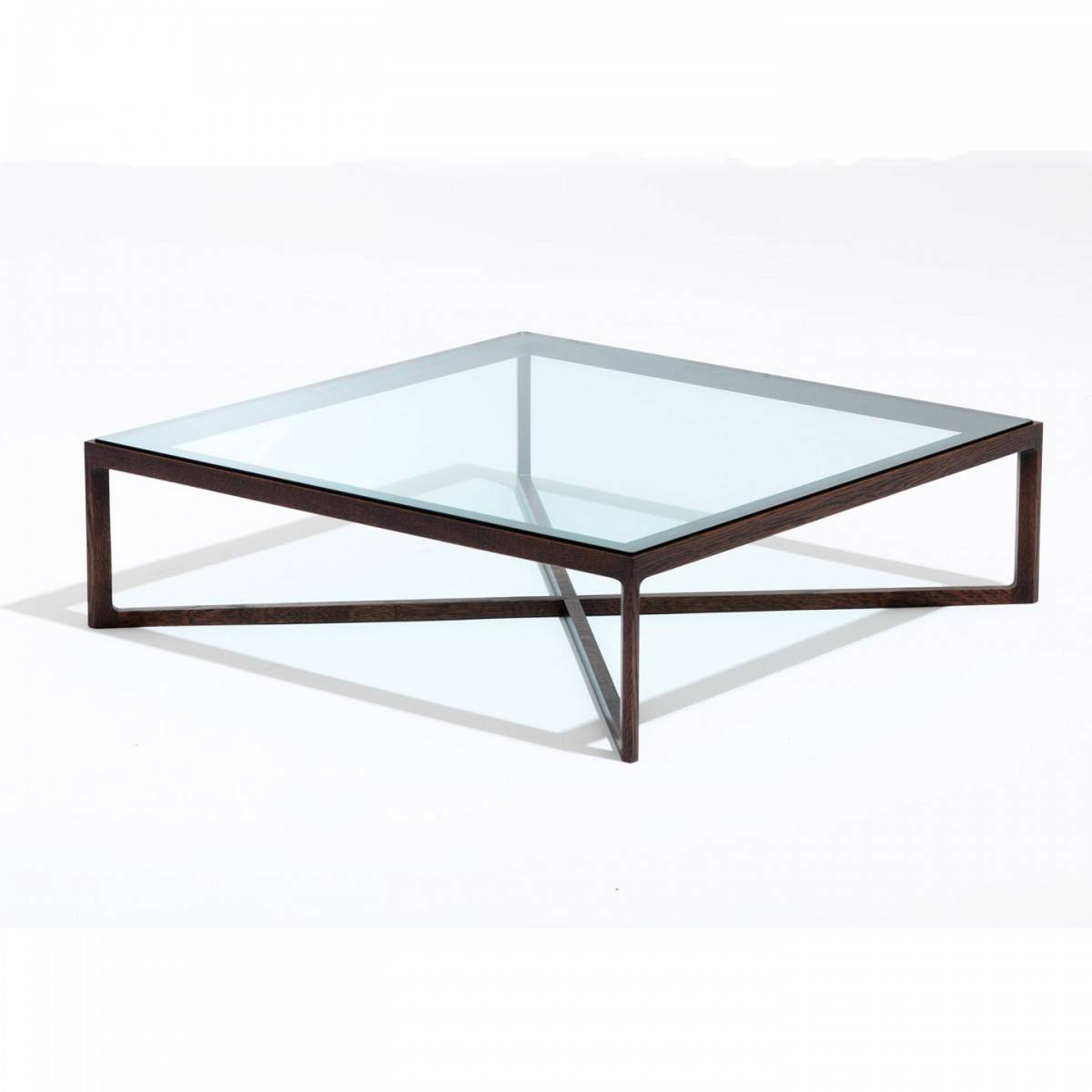 Low Glass Coffee Tables with regard to Square Glass Coffee Tables (Image 8 of 15)