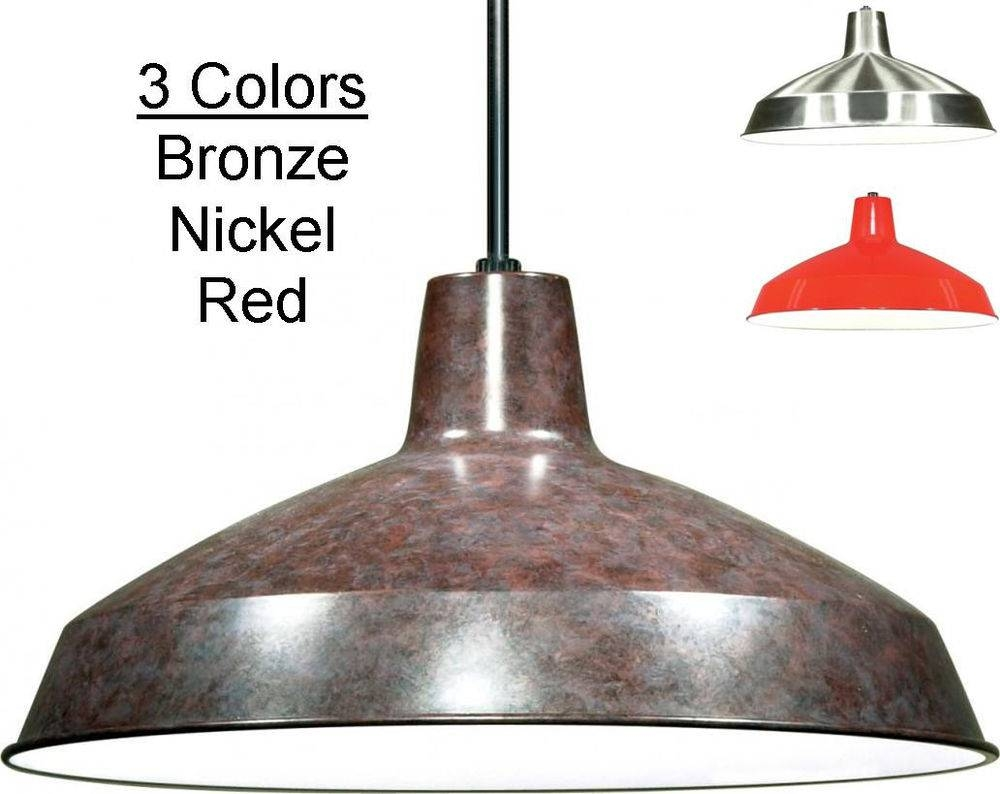 Featured Photo of Tin Pendant Lights