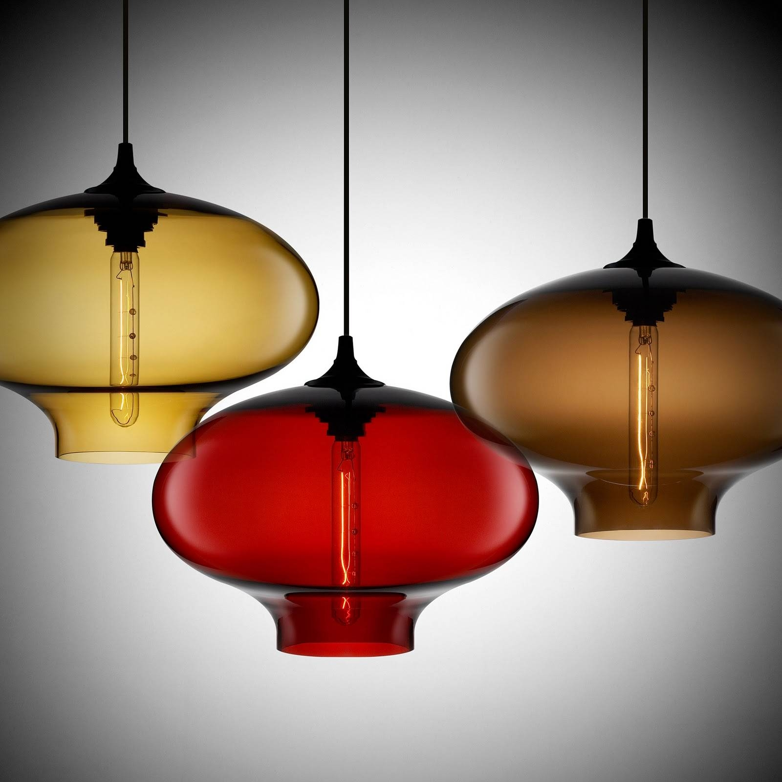Lynn Morris Interiors : Artistic Pendant Lights For Unique for Artisan Glass Pendant Lights (Image 18 of 23)