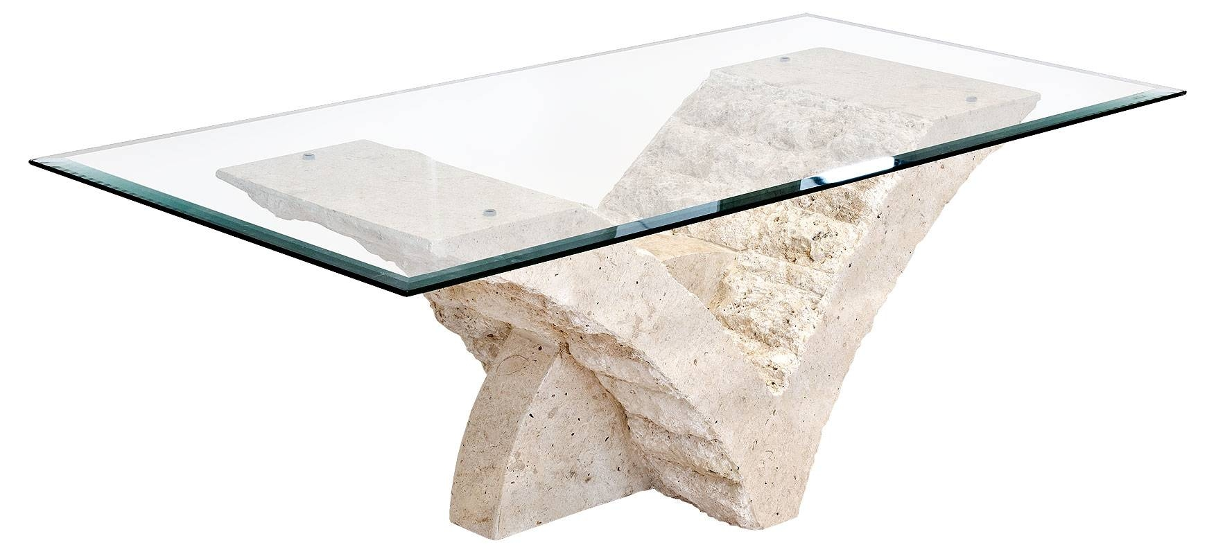 Mactan Stone And Glass Seagull Coffee Table For Stone And Glass Coffee Tables (View 6 of 15)