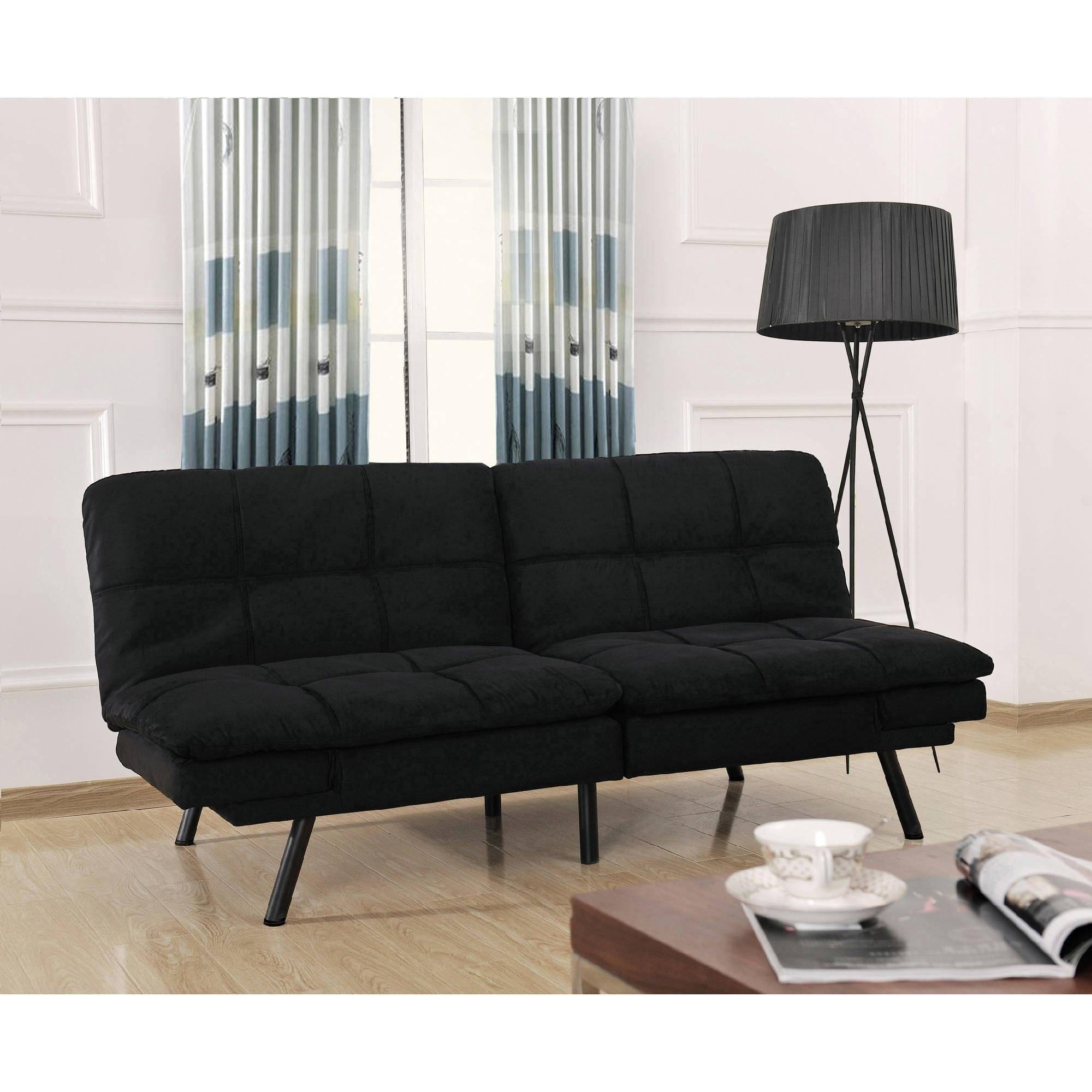 Mainstays Contempo Futon Sofa Bed 80 With Inside Beds