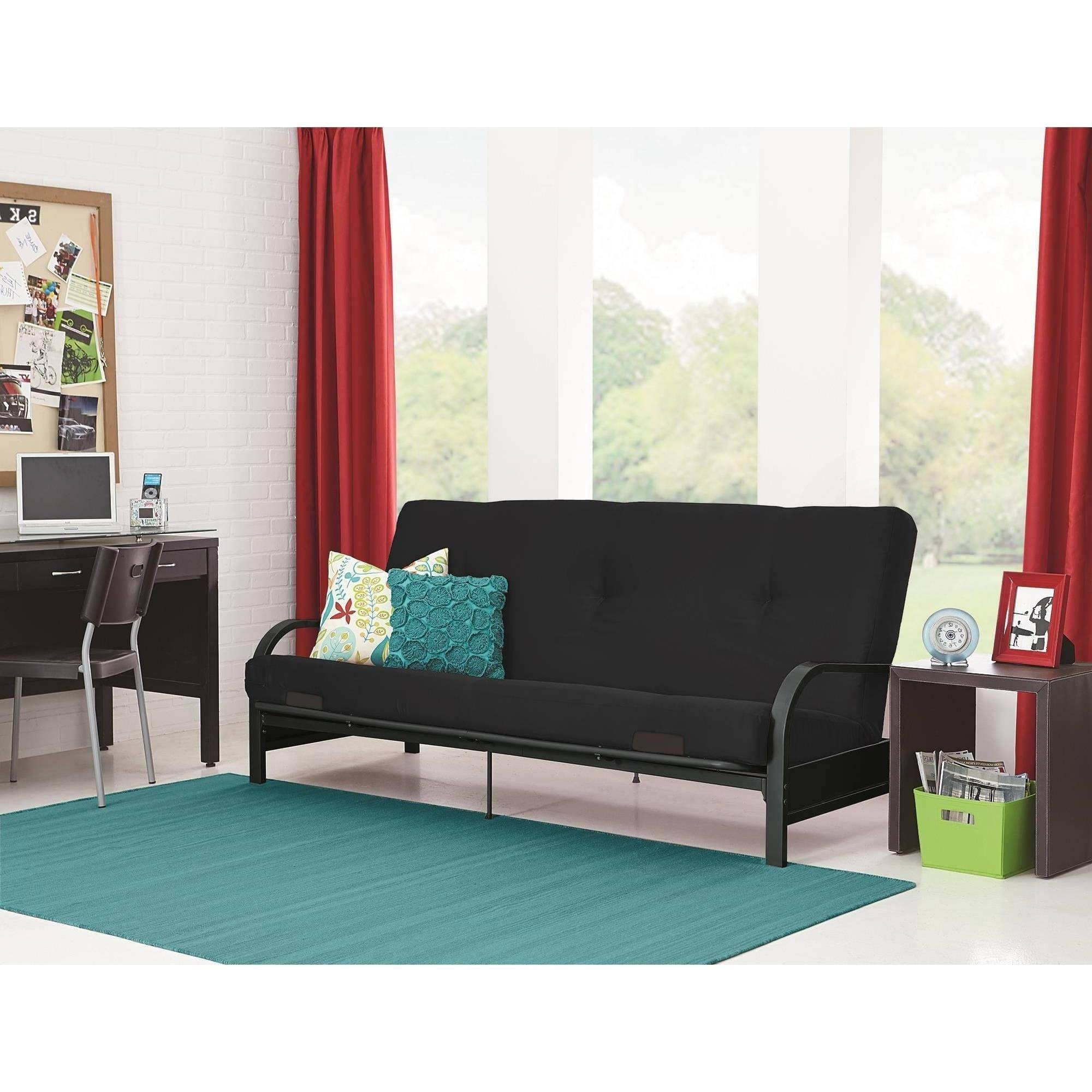 Mainstays Contempo Futon Sofa Bed 96 With In Beds