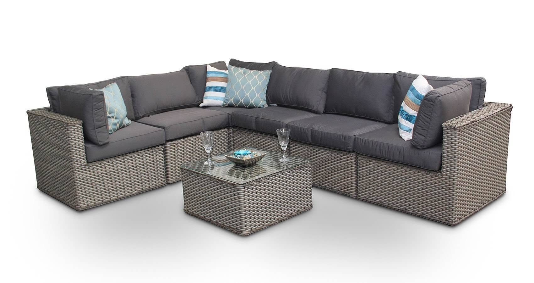 Manchester 10Pc Modular Rattan Sofa Dining Corner Sofa Set With with regard to Dining Sofa Chairs (Image 12 of 15)