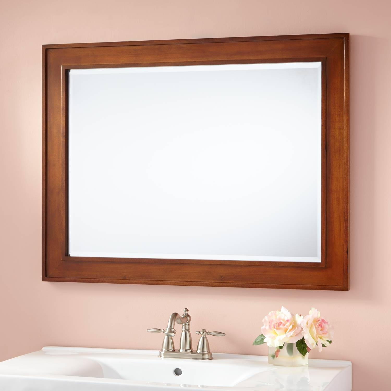 Manhattan Vanity Mirror - Bathroom pertaining to Rustic Oak Framed Mirrors (Image 11 of 15)