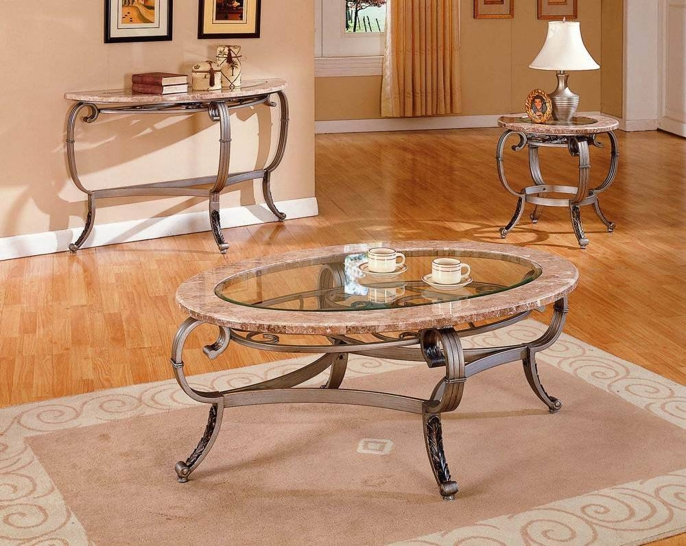 Featured Photo of Marble And Glass Coffee Table