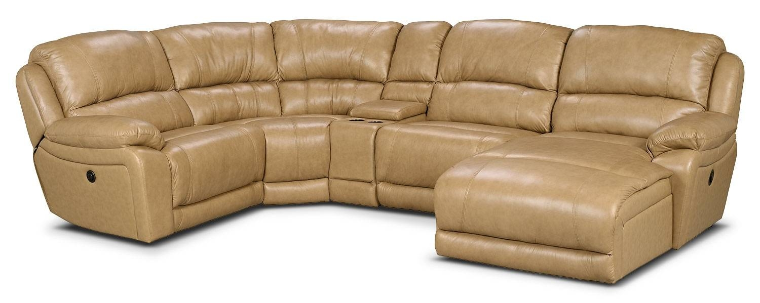 Popular Photo of Cindy Crawford Leather Sectional Sofas