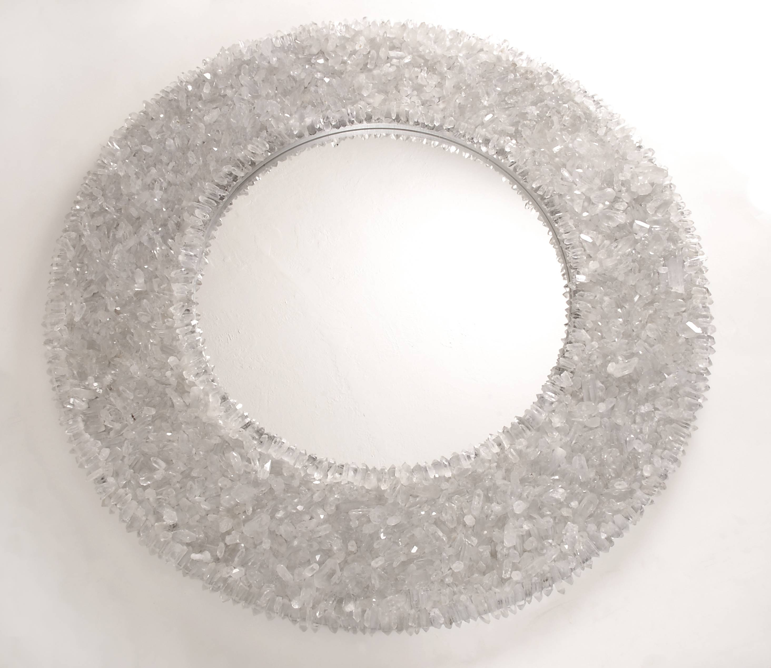 Marjorie Skouras : Dennis Miller Associates Fine Contemporary inside Mirrors With Crystals (Image 11 of 15)