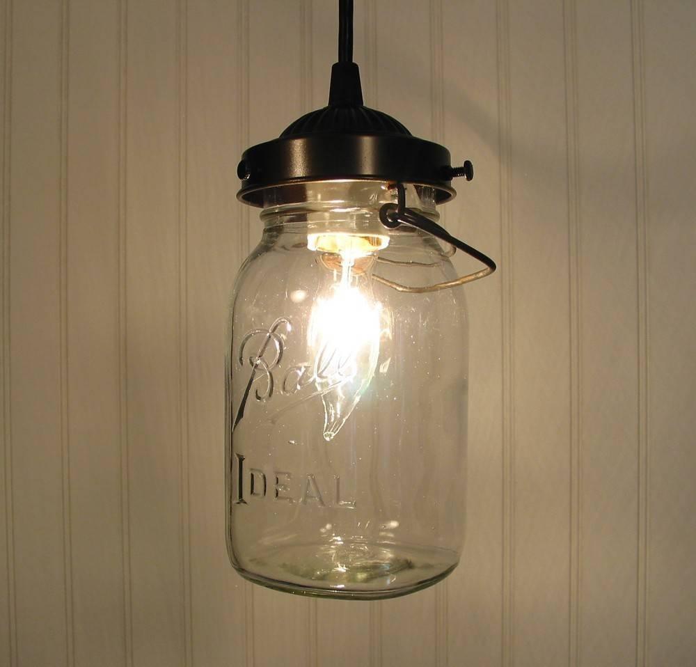 Marvelous Jar Pendant Light Related To Home Decor Pictures Mason regarding Ball Jar Pendant Lights (Image 12 of 15)