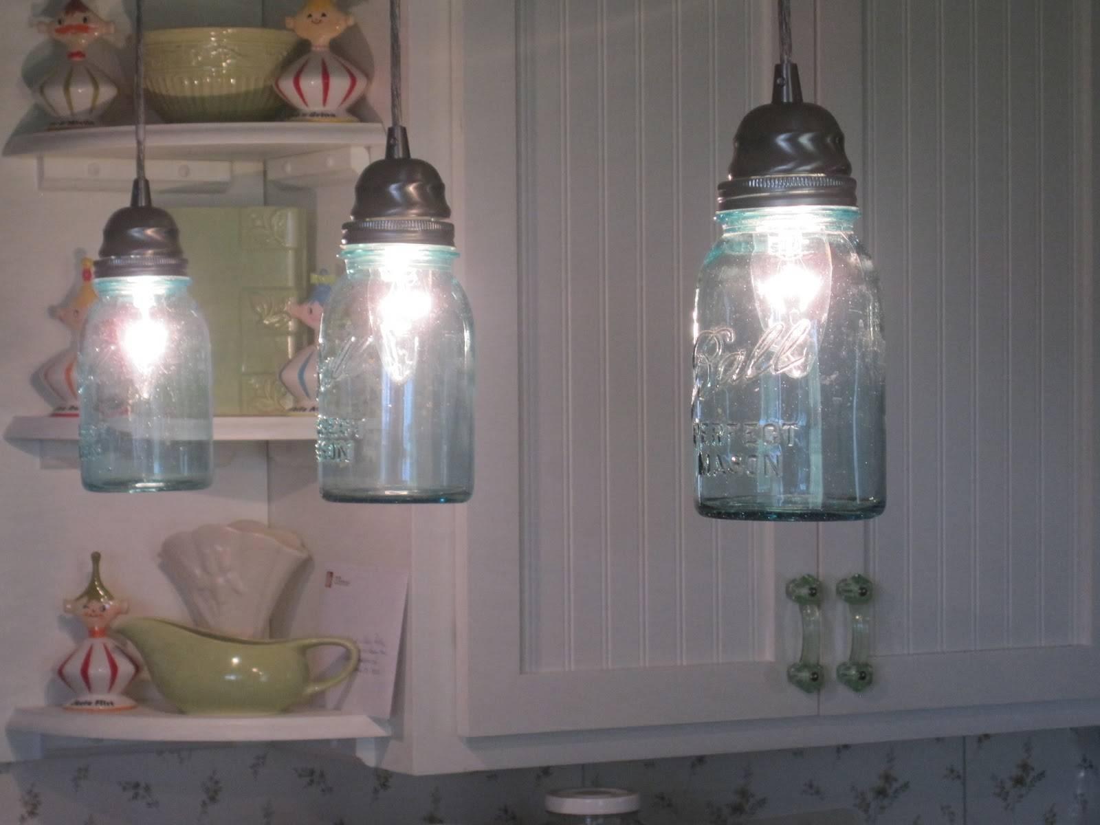 Mason Jar Pendant Light. Mason Jars Pendant Lamp. Purple Mason Jar in Wine Jug Pendant Lights (Image 11 of 15)