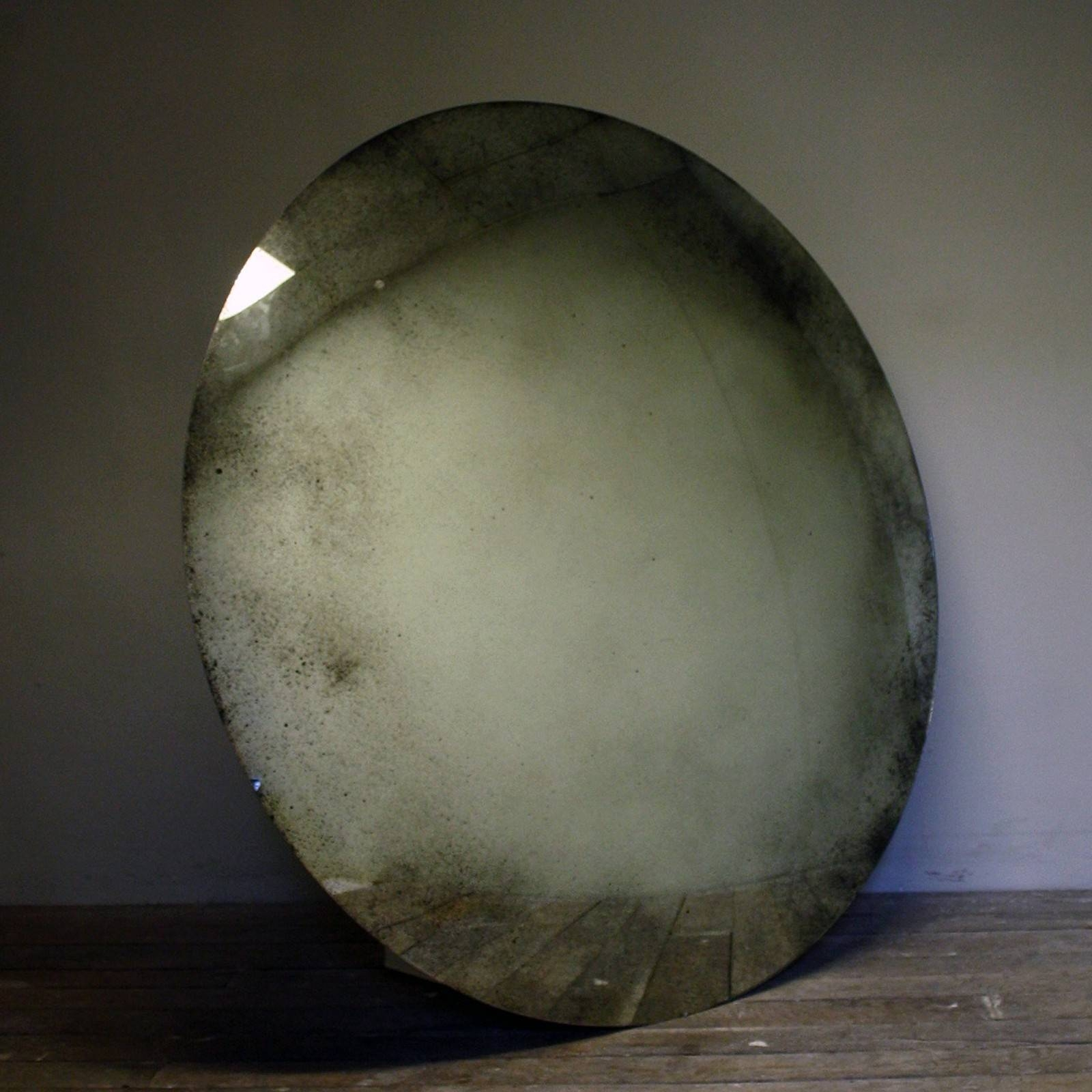 Massive!!! Convex Mirror - Decorative Collective pertaining to Antique Convex Mirrors (Image 12 of 15)