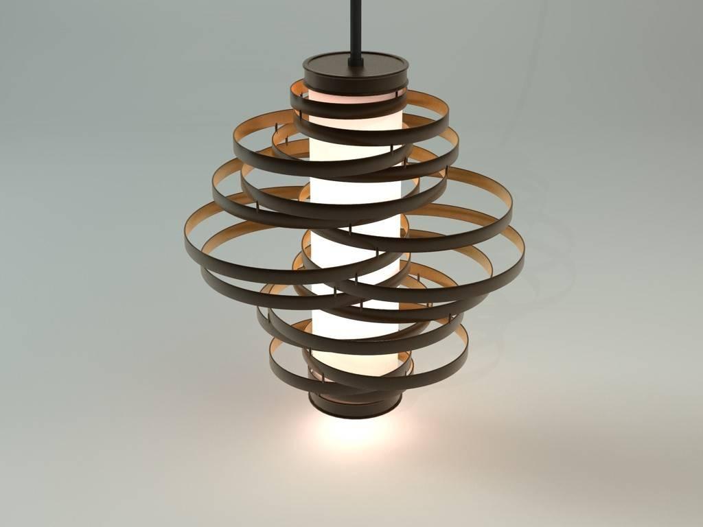 Max Vertigo Pendant Lamp inside Corbett Vertigo Pendant Lights (Image 15 of 15)