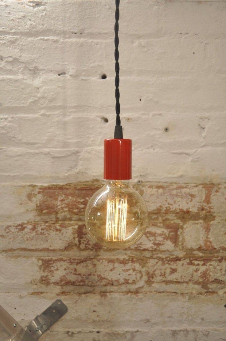 Mer Enn 10 Bra Ideer Om Red Pendant Light På Pinterest Throughout Modern Red Pendant Lighting (View 12 of 15)