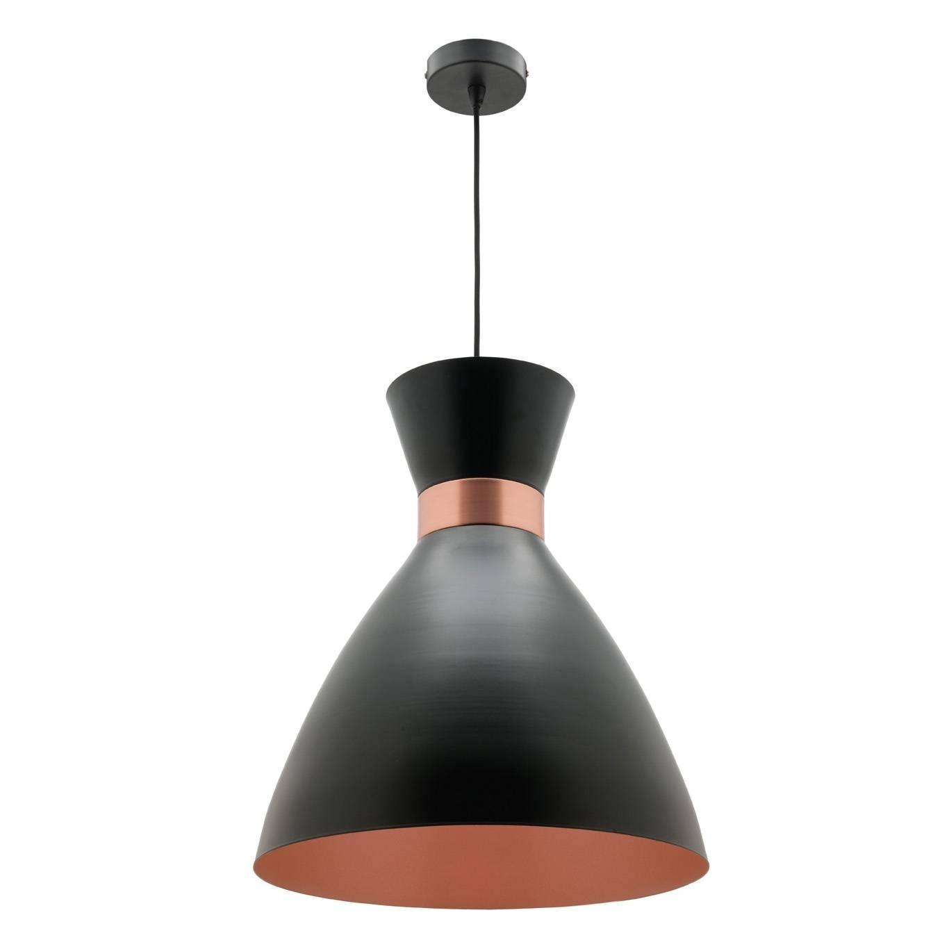 Mercator Jasper Pendant Light – Copper/black – Small A41931S/cp inside Mercator Pendant Lights (Image 12 of 15)