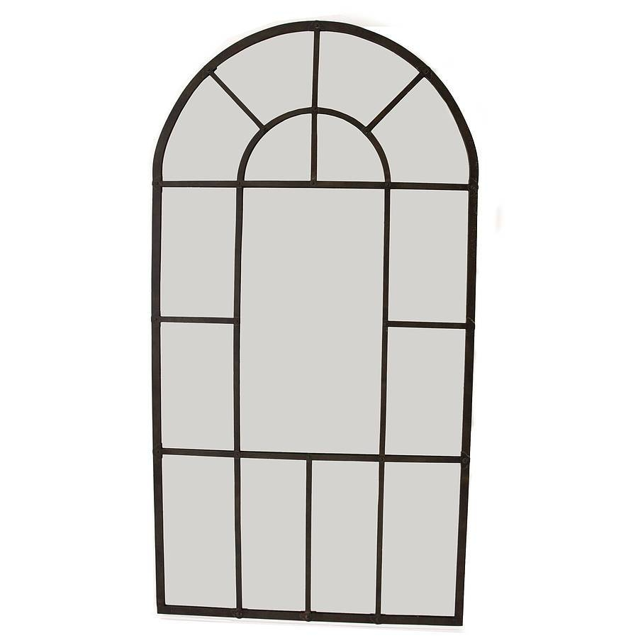 Metal Arch Mirrordecorative Mirrors Online inside Arched Wall Mirrors (Image 7 of 15)