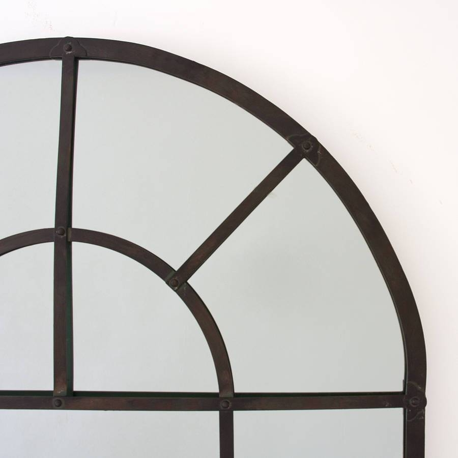 Metal Arch Mirrordecorative Mirrors Online within Arched Wall Mirrors (Image 8 of 15)
