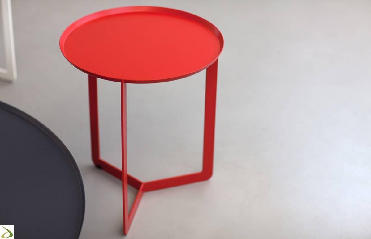 Metal Coffee Table Round Arredo Design Online regarding Round Metal Coffee Tables (Image 7 of 15)
