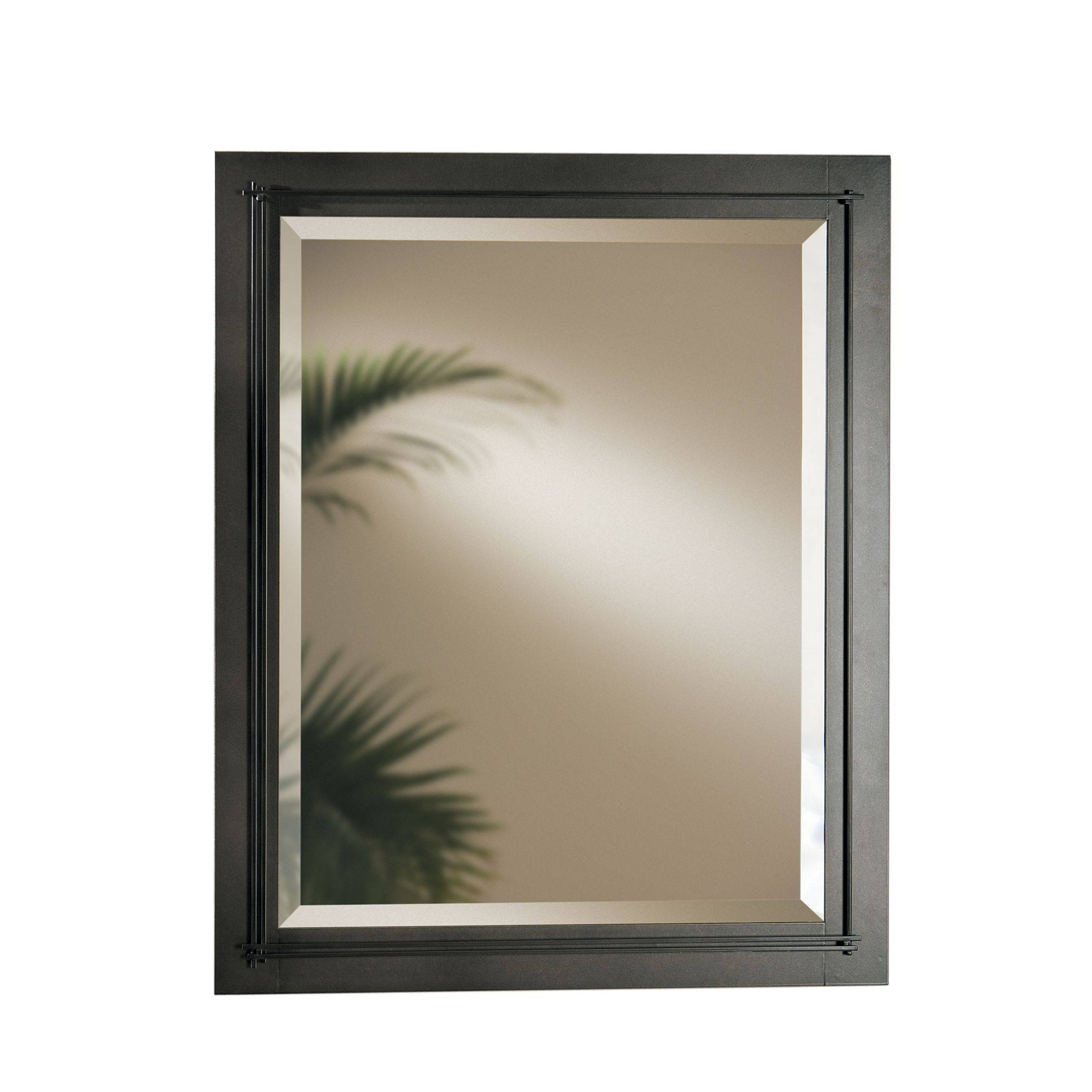Metra Large Beveled Mirror – Hubbardton Forge throughout Large Bronze Mirrors (Image 8 of 15)