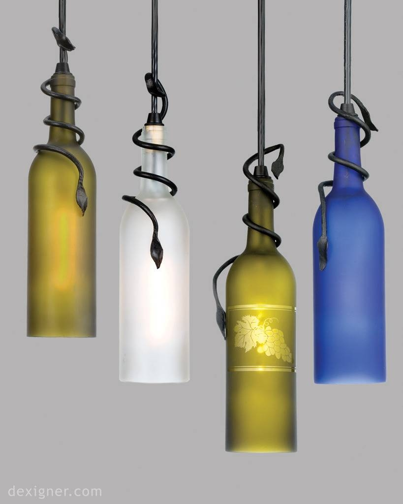 Meyda Lighting Introduces Unique Wine Bottle Pendants with Wine Bottle Pendants (Image 5 of 15)