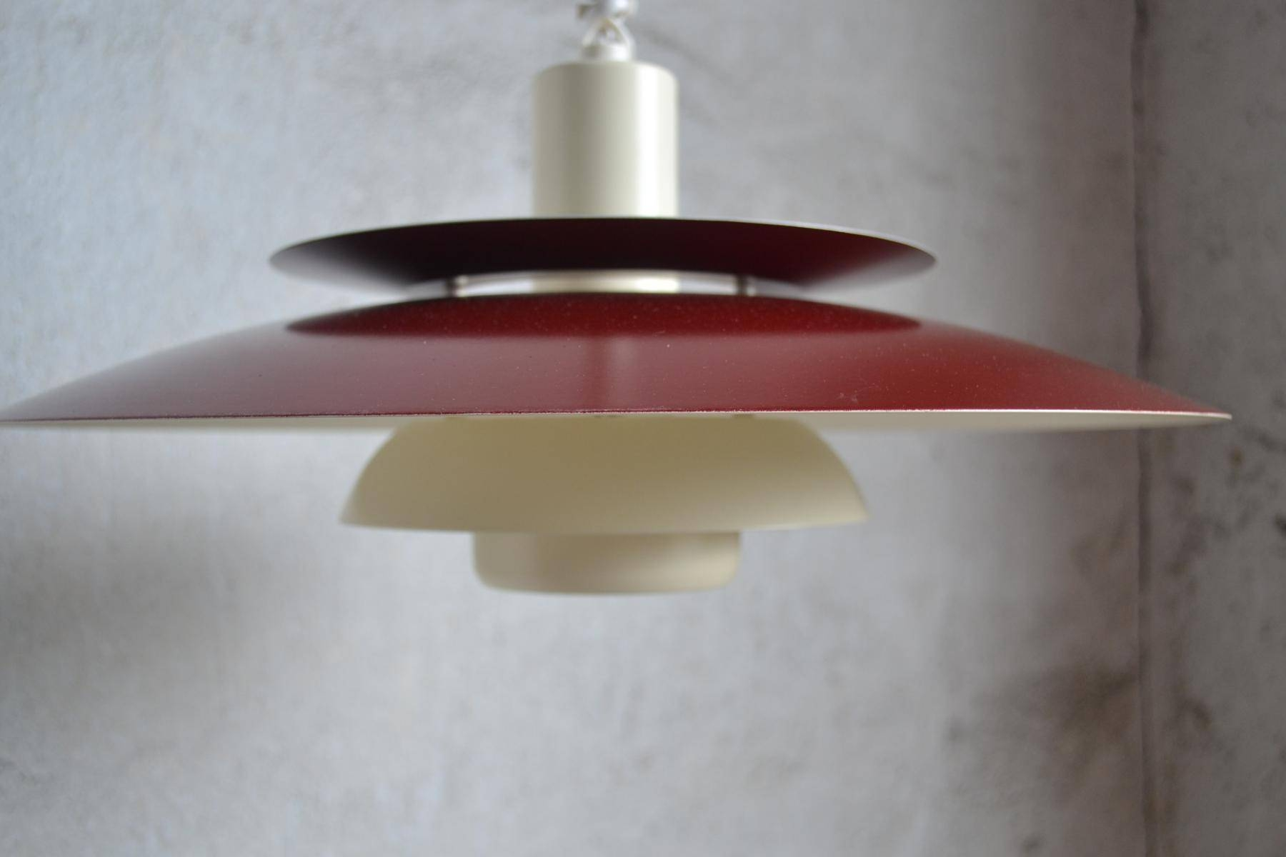 Mid-Century Danish Pendant Lamp From Louis Poulsen, 1960S For Sale within 1960S Pendant Lighting (Image 4 of 15)
