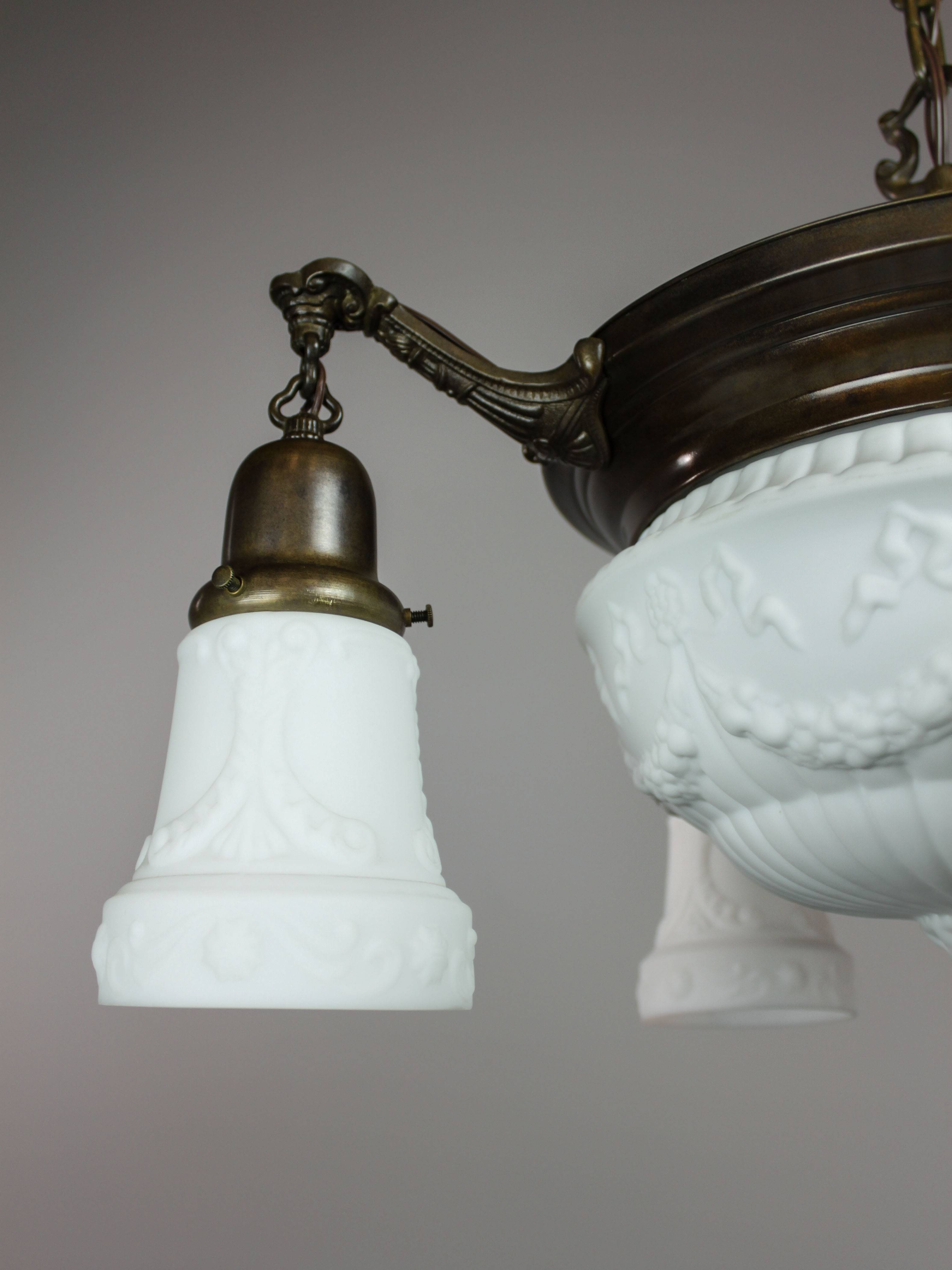 Milk Glass Light Fixtures - Light Fixtures intended for Milk Glass Lights Fixtures (Image 9 of 15)