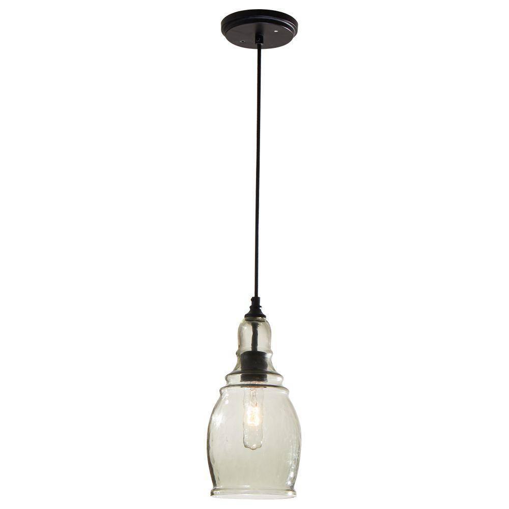 Mini - Hampton Bay - Pendant Lights - Hanging Lights - The Home Depot in Hampton Bay Mini Pendant Lights (Image 11 of 15)