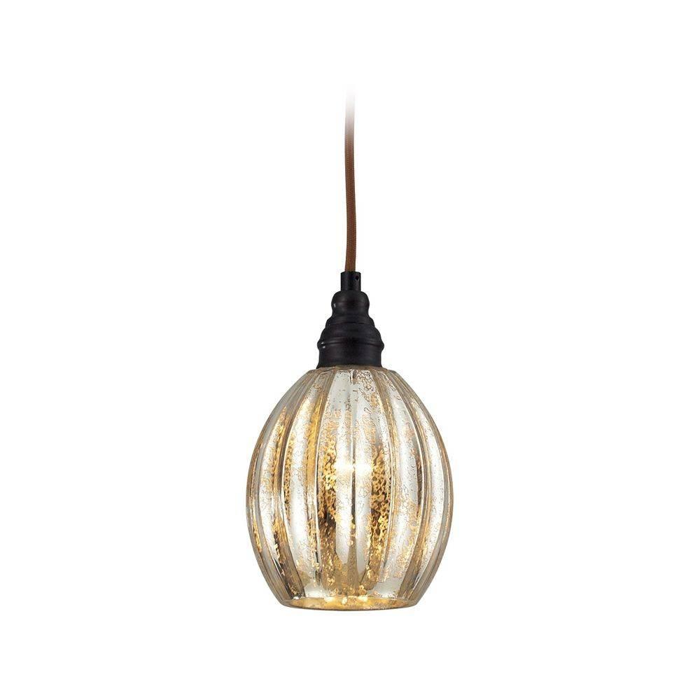 Mini-Pendant Light With Mercury Glass | 46007/1 | Destination Lighting pertaining to Mercury Glass Pendant Lighting (Image 13 of 15)