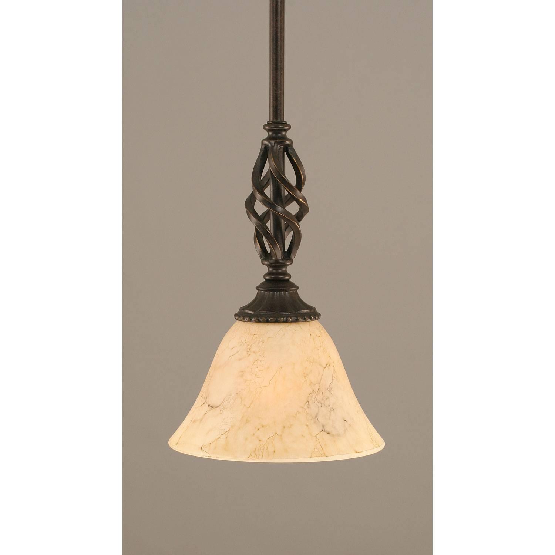 Mini Pendant Lighting | Bronze, Nickel, Steel Mini Pendants For throughout Shell Light Shades Pendants (Image 9 of 15)