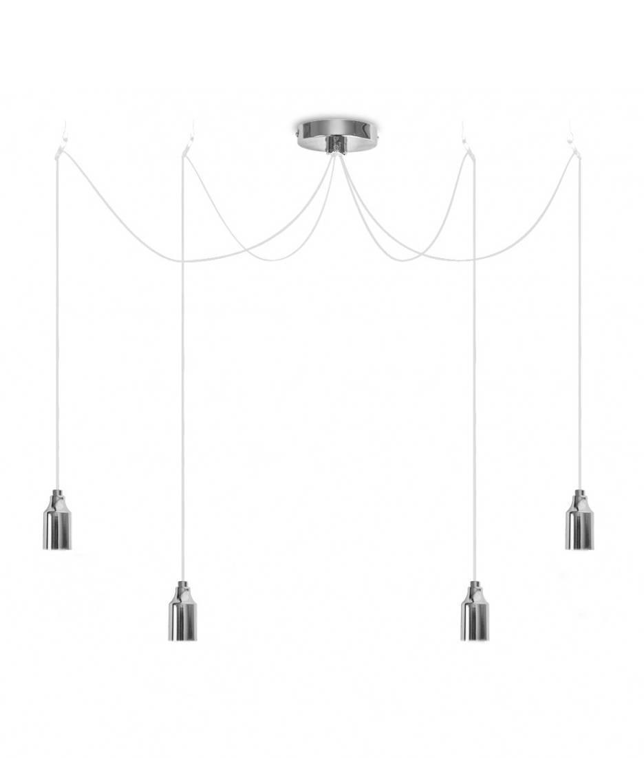 Minimalist Bare Bulb Pendant - 4 Lamps pertaining to Bare Bulb Pendants (Image 11 of 15)