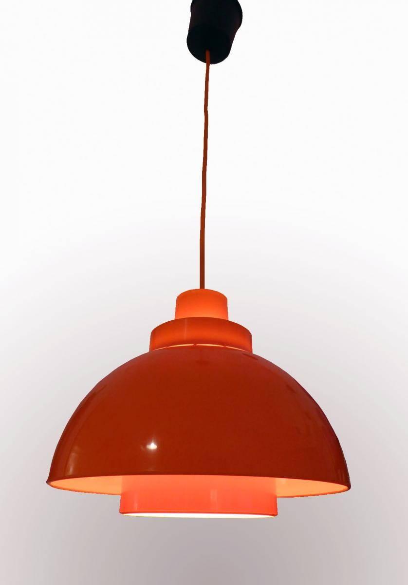 Minisol Pendant Lightk Kewo For Nordisk Solar, 1960S For Sale inside 1960S Pendant Lights (Image 9 of 15)