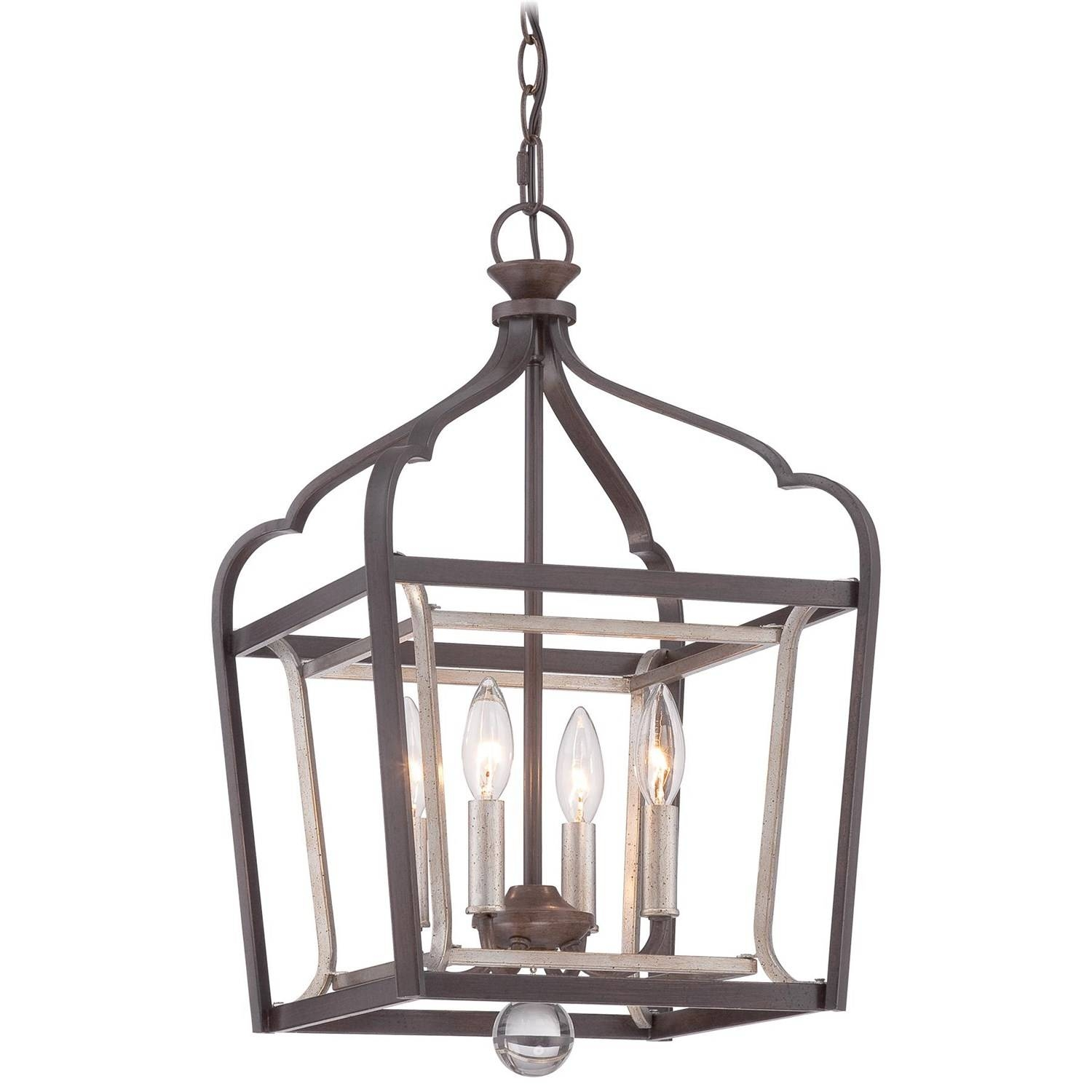 Minka Lavery 4343-593 Astrapia 22 H 4 Light Foyer Pendant In Dark within Minka Lavery Pendant Lights (Image 3 of 15)